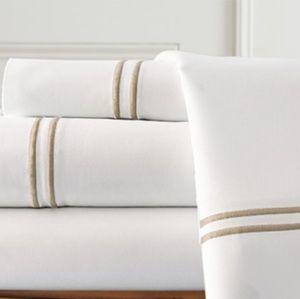 55%cotton sheet set. Queen size 1000TC